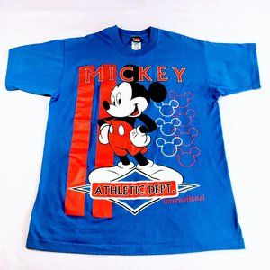 90's Vtg Mickey Unlimited Single Stitch Tee